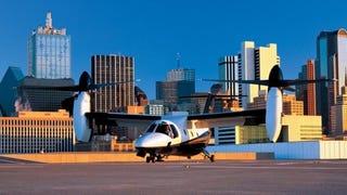Illustration for article titled Buy Your Own V22, Kinda: Bell 609 Civilian Tiltrotor Gets Rolled-Out