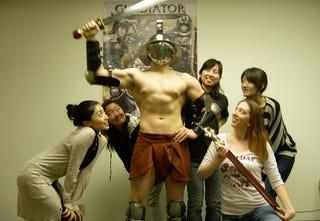 Illustration for article titled The American Version of Gladiator Begins Office Hijinks