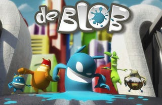 Illustration for article titled THQ & Sci-Fi Channel Team Up, de Blob Cartoon On The Way