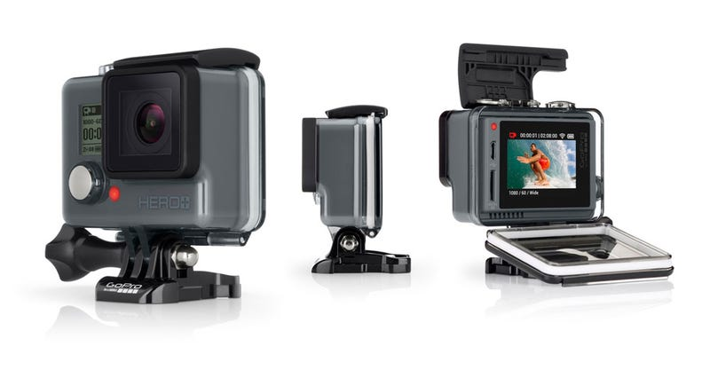 Illustration for article titled The Hero+ LCD Is GoPro's New, Cheaper Touch Screen Action Cam