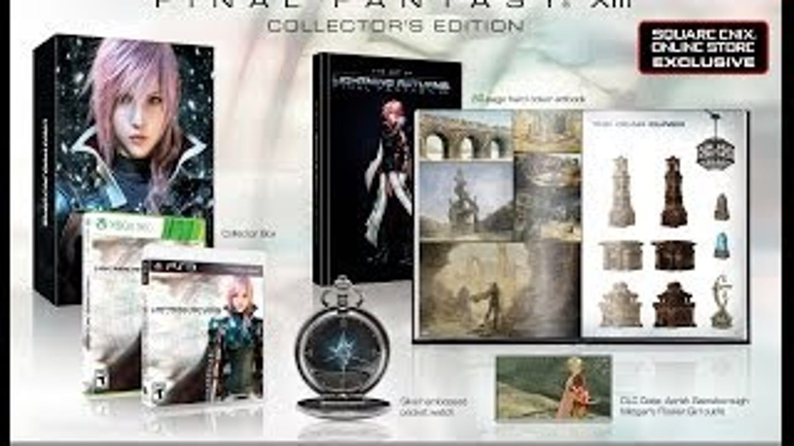 Lightning Returns' Collector's Edition Is So Fancy It Gets ...