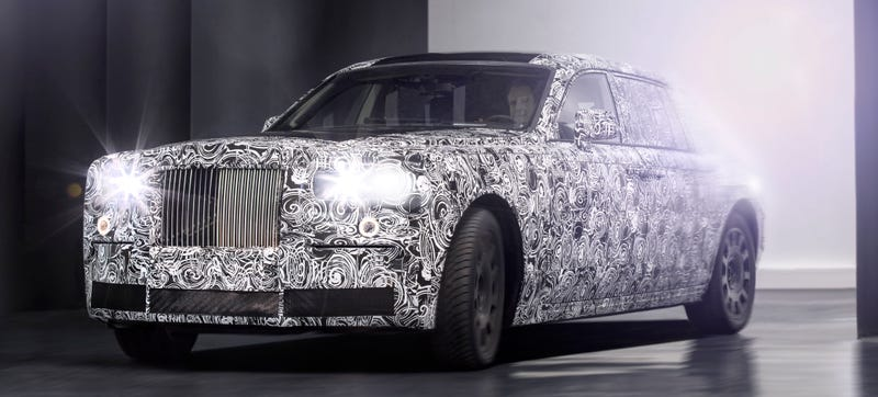 Illustration for article titled Your Next Rolls-Royce Will Be Aluminum