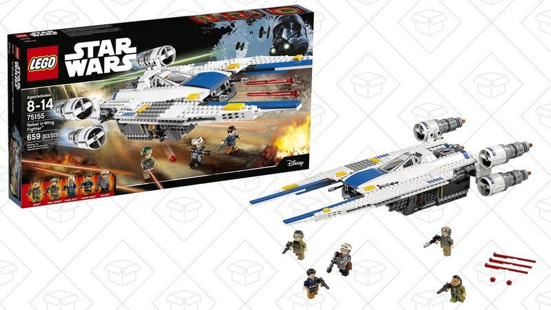 LEGO STAR WARS Rebel U-Wing Fighter 75155, $54