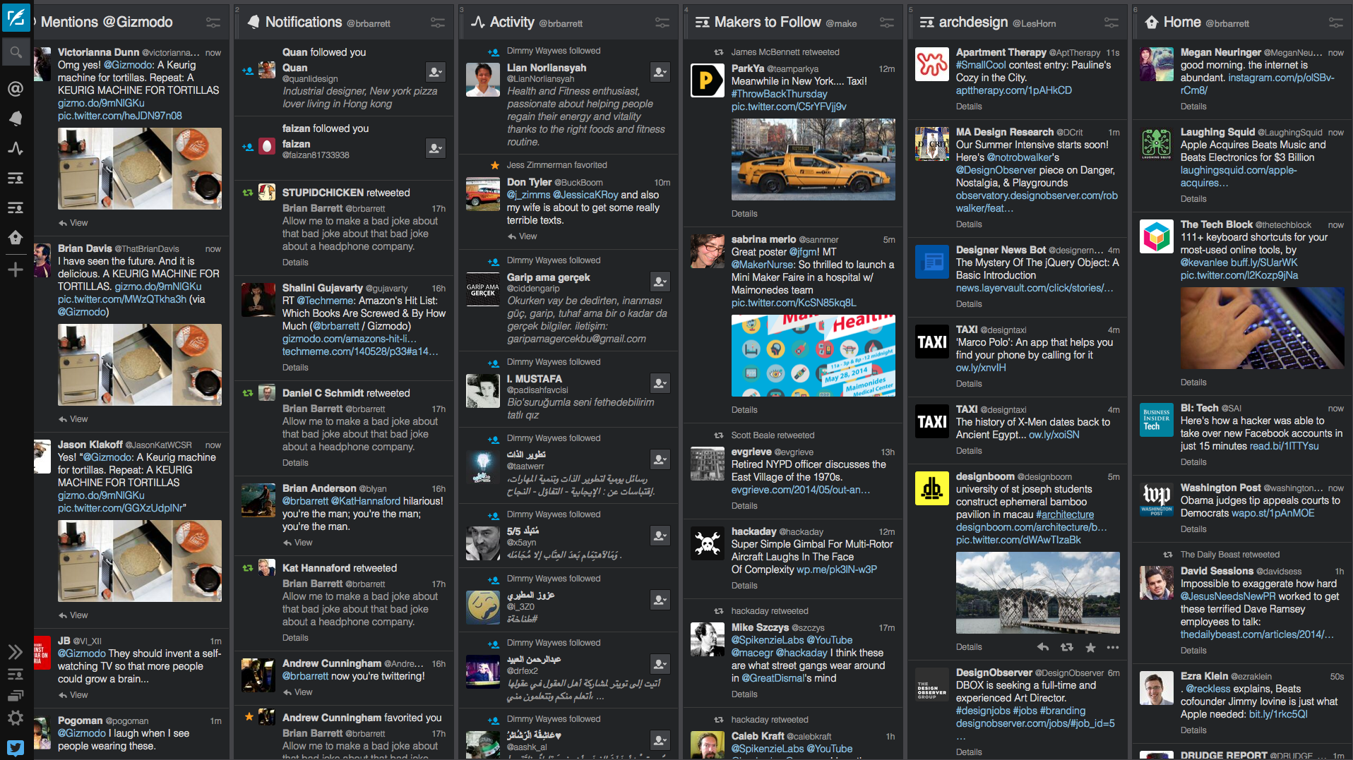 Using Tweetdeck as a newsgathering tool | About the ABC