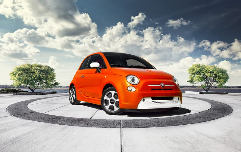 Illustration for article titled The Fiat 500E Is An Electric Car You Can Only Buy In California