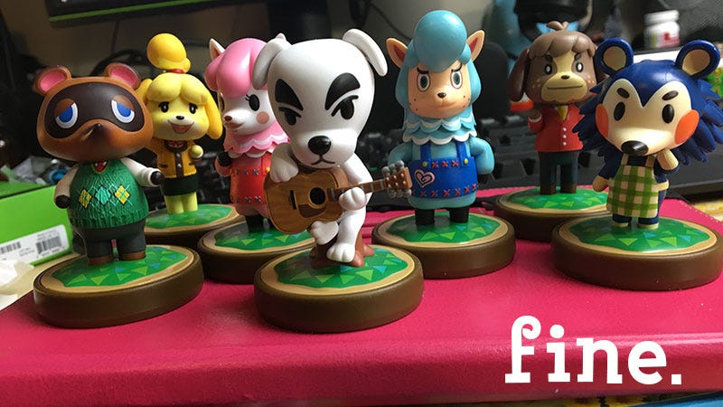 Illustration for article titled You Finally Got Me Amiibo, But Your Animal Crossing Board Game Is A Bore