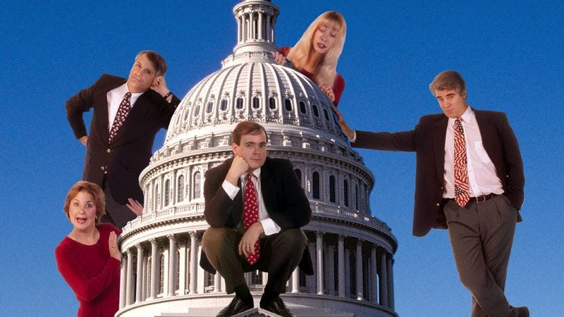 Illustration for article titled Can bipartisan comedy ever be truly satirical?