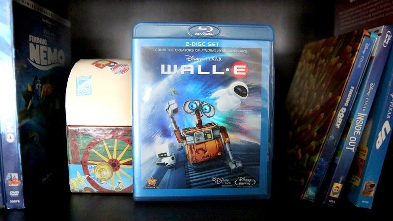 Wall-E on Bluray