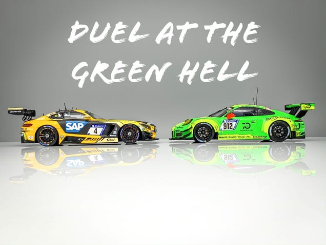 Illustration for article titled DUEL AT THE GREEN HELL