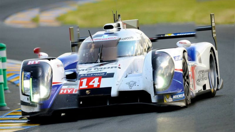 Illustration for article titled Composite Image Shows Just How Similar Le Mans Prototypes Have Become