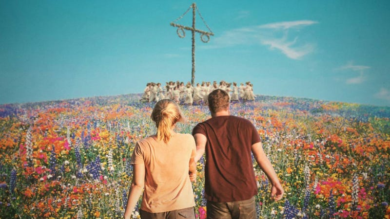 A crop of the Midsommar poster.