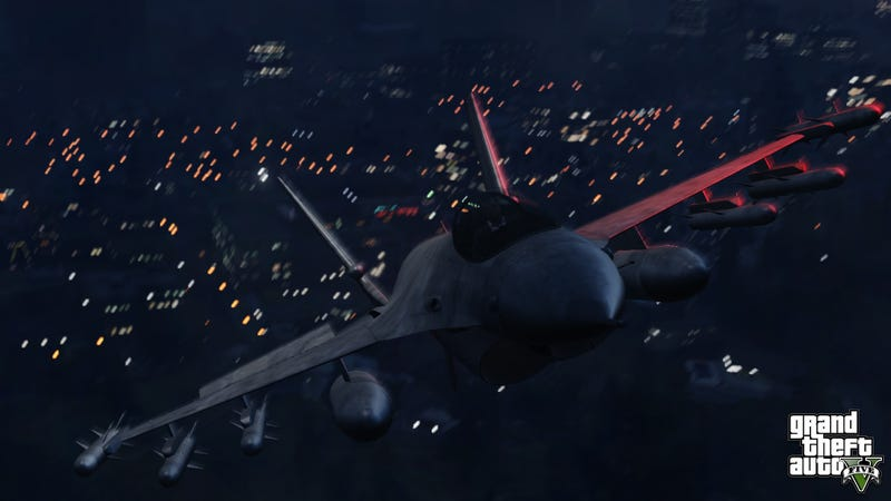 Illustration for article titled Here's Proof That Grand Theft Auto V Has Planes, Bikes, And Cars