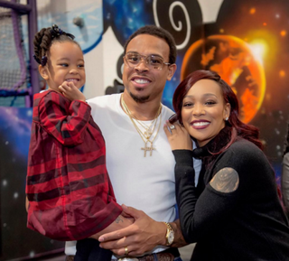 Laiyah Brown, NBA player Shannon Brown and his wife, R&B songstress Monica BrownInstagram