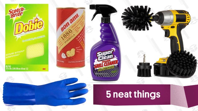 Five Products You Need To Deep Clean Your Grill
