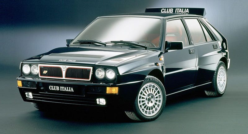 Illustration for article titled Watch Jason Drive A Lancia Delta HF Integrale Live Right Now