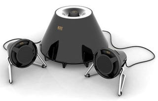 Illustration for article titled Expressionist Plus Speaker Set Has A Real Subwoofer This Time