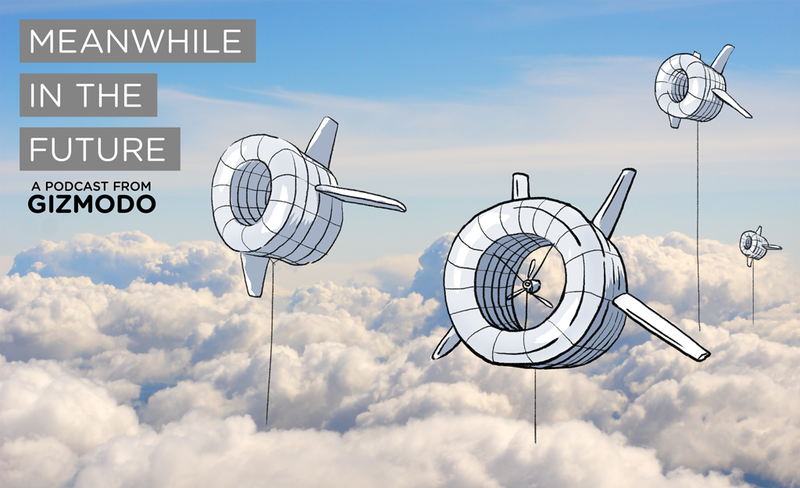 Illustration for article titled Meanwhile in the Future: We Have Changed the Climate with Wind Turbines