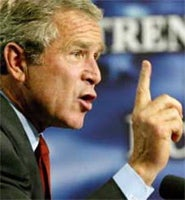 Illustration for article titled State Of The Union: Bush Pays Weak Lip Service To Automotive Technological Innovation