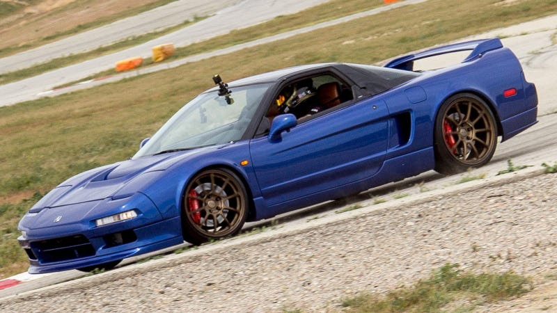 (Image Credits: Clarion, Andrew Collins). An OG Acura NSX ...
