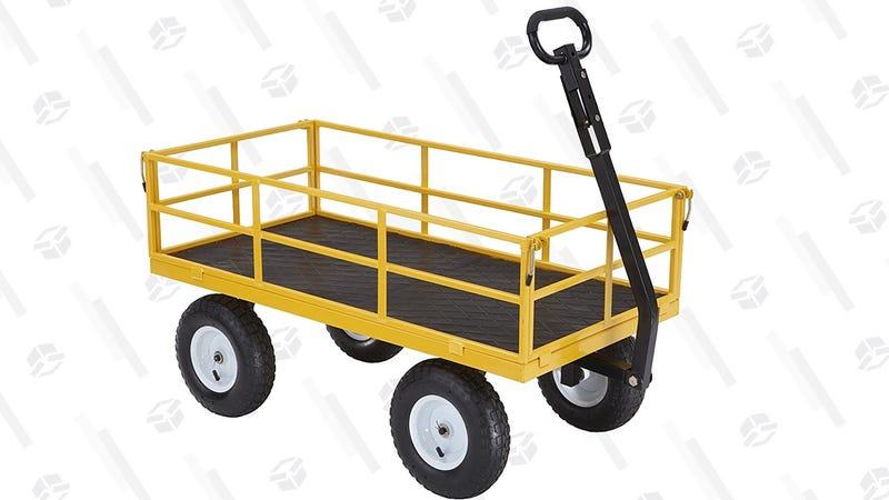Gorilla Cart 1200 Pound Capacity Garden Cart | $90 | Home Depot