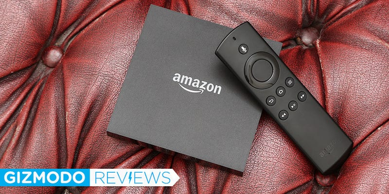 Illustration for article titled New Amazon Fire TV Review: Now With 4K But Still Not a Roku
