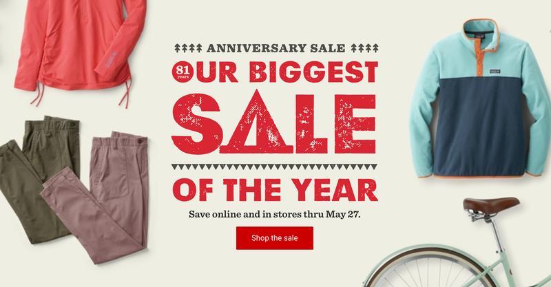 REI Anniversary Sale | REI