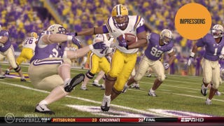 Illustration for article titled Running Backs Should Deliver the Most Enjoyable Reaction Time in NCAA 13