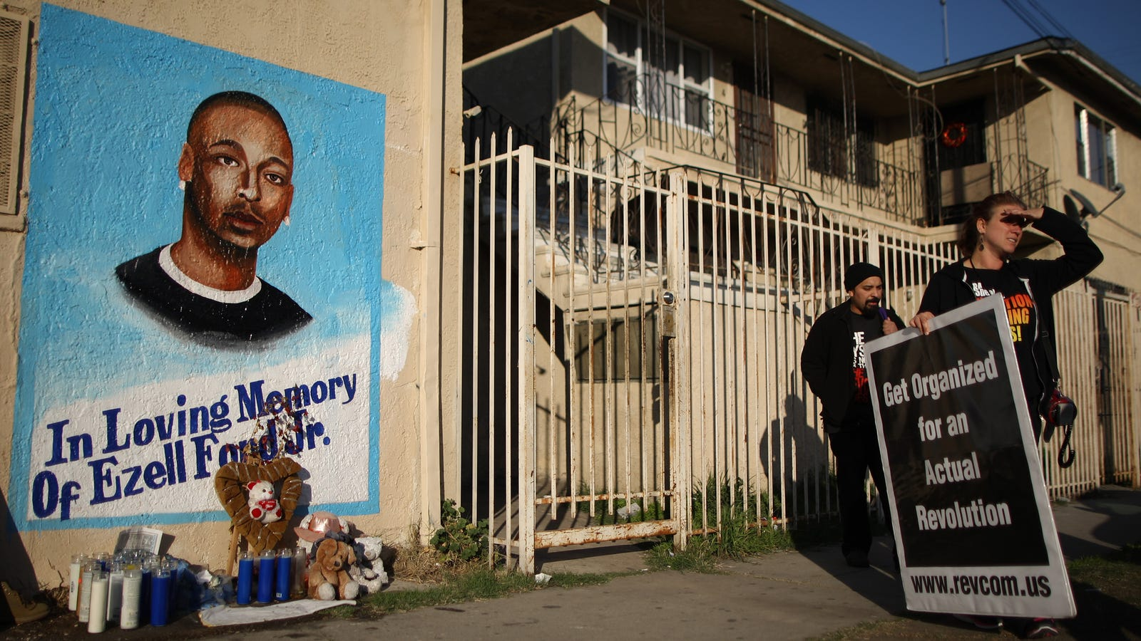 LAPD Officers Who Shot and Killed Ezell Ford Will Not Face Charges
