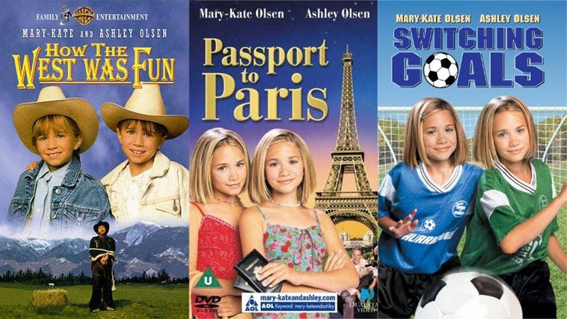 Illustration for article titled How Many Of These Mary-Kate And Ashley Movies Have You Seen?
