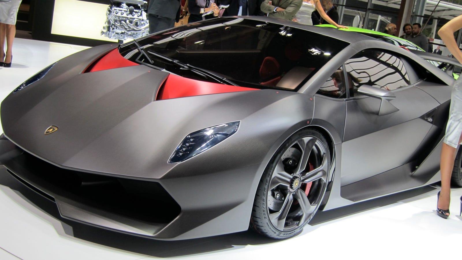 Lamborghini Sesto Elemento Carbon Fiber And Hot Air