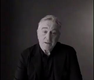 Robert De Niro in anti-Donald Trump videoVideo Screenshot