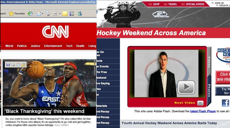 """Illustration for article titled This Is The Fourth Annual """"Hockey Weekend Across America,"""" Assuming It Actually Exists"""