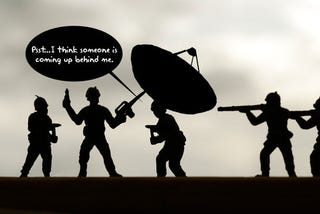 Illustration for article titled Army Helmet-Mounted Radar Will Give Soldiers Eyes In the Back Of Their Heads