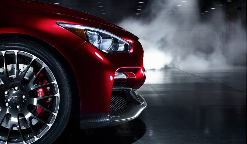 Illustration for article titled The Infiniti Q50 Eau Rouge Will Have 500 Horsepower 'If' They Build It