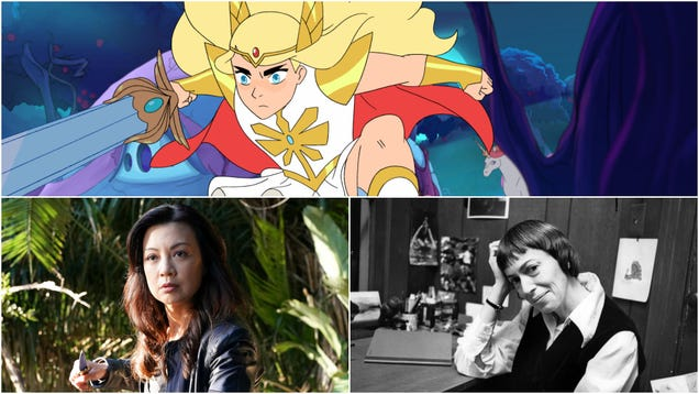 She-Ra, S.H.I.E.L.D., and sci-fi legend Ursula K. Le Guin arrive to occupy your weekend