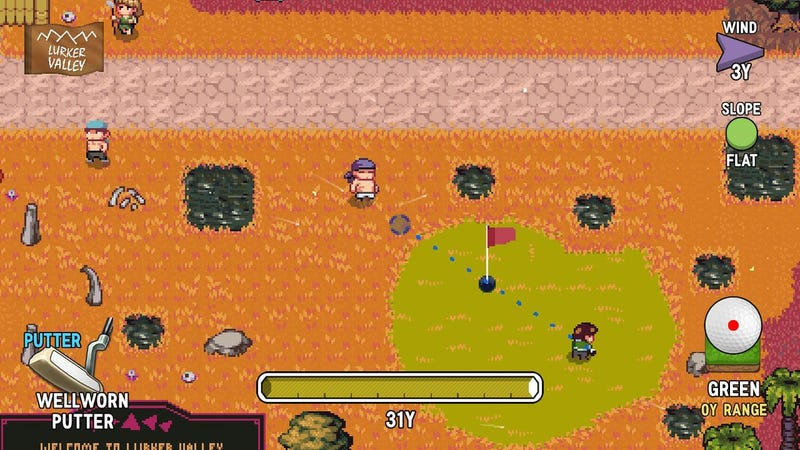 Illustration for article titled Tips For Playing Golf Story