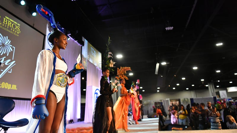A general view of the 2019 Bronner Brothers International Beauty Show at Georgia World Congress Center on August 18, 2019 in Atlanta, Georgia.