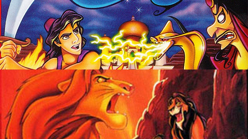 Illustration for article titled A Remaster Of Disney's Classic Lion King And Aladdin Games Is Coming In Fall