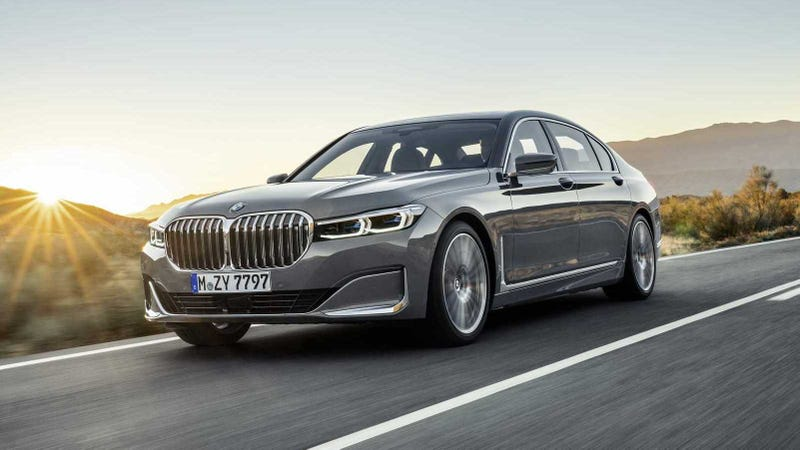 Illustration for article titled The 2020 BMW 7 Series Front End Is Entirely Nostril Now
