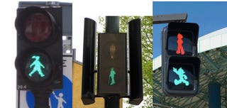 Illustration for article titled 7 Crosswalk Signals You Won't Mind Waiting For