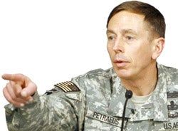 Illustration for article titled Gen. Petraeus Delivers Iraq Report