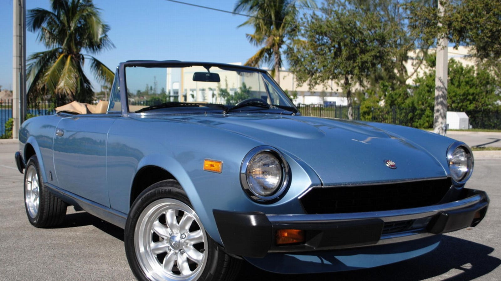 For 9 990 Could This 1981 Fiat 124 Sport Spider Make You Forget The New Miata Based One