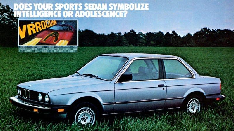 Illustration for article titled Does Your Sports Sedan Symbolize Intelligence Or Adolescence?