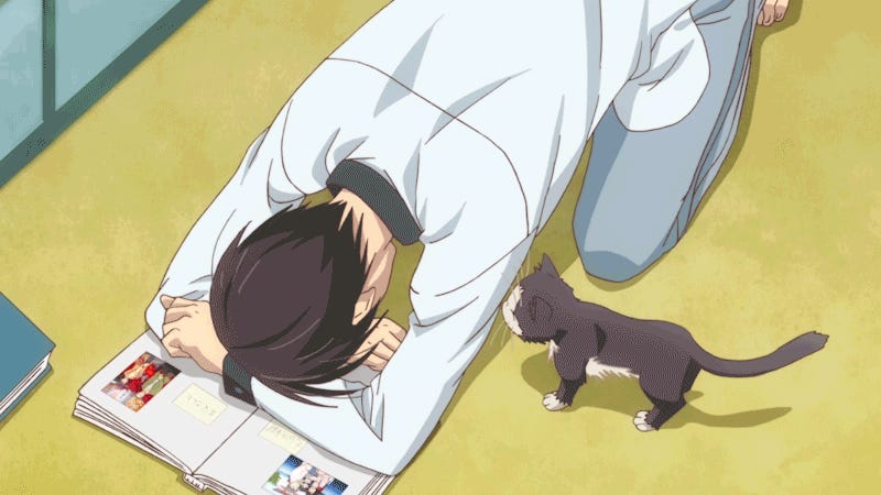 My Roommate Is A Cat Is The Purest Anime Of The Season
