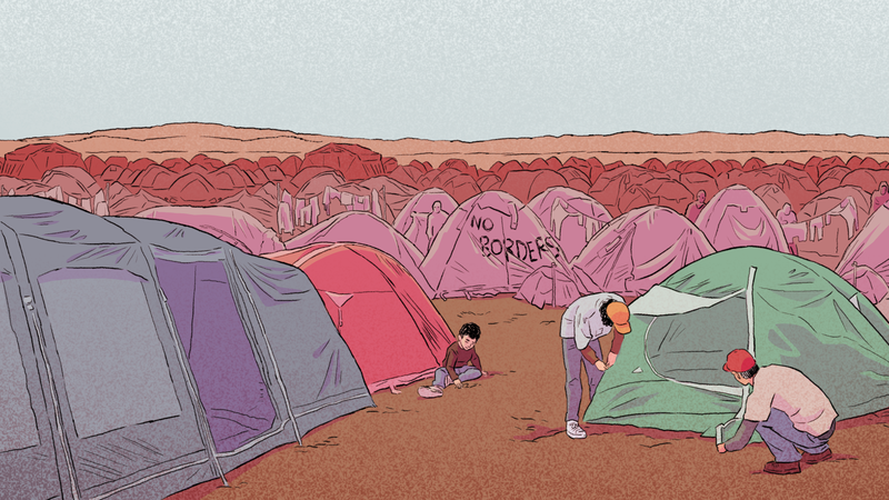 Illustration for article titled Real-Time Syrian Refugee Game Bury Me, My Love Is Now On Switch And You Should Play It