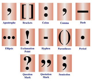Illustration for article titled National Punctuation Day