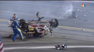 """OMFG!"": How Dale Jr. Reacted Live To Last Night's Gnarly NASCAR Wreck"
