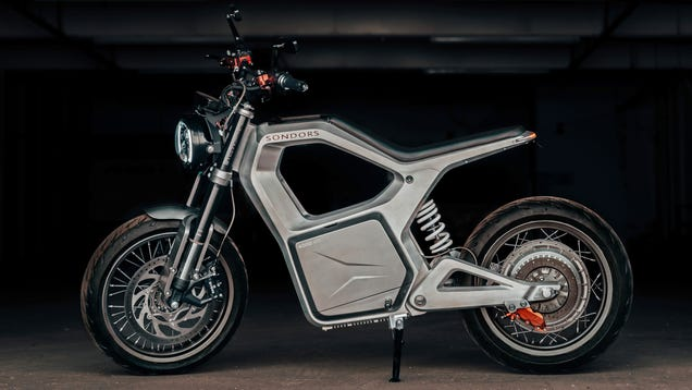 The Sondors Metacycle Is The Inexpensive Electric Commuter Motorcycle I've Been Waiting For