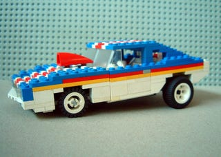 Illustration for article titled Finnish Lego Maniac Builds Awesome Tributes To American Muscle