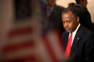 Republican presidential candidate Ben CarsonJustin Sullivan/Getty Images